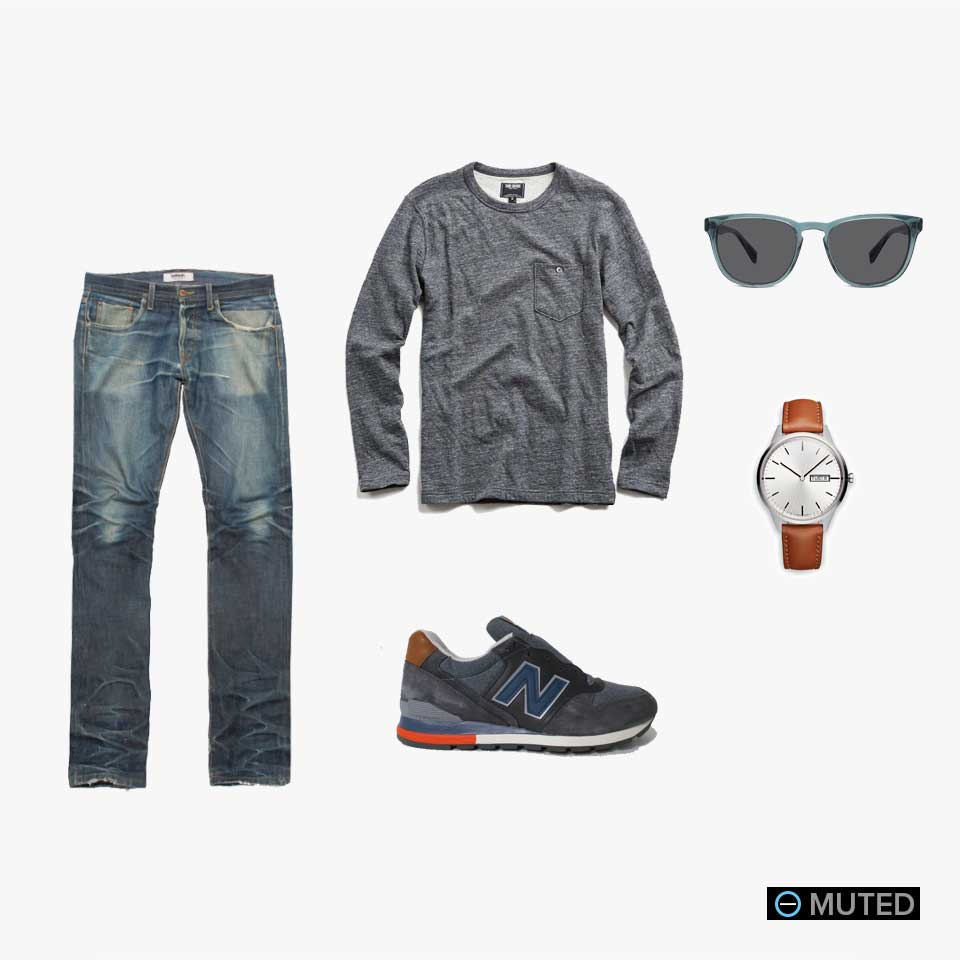 muted mens outfit ideas #24