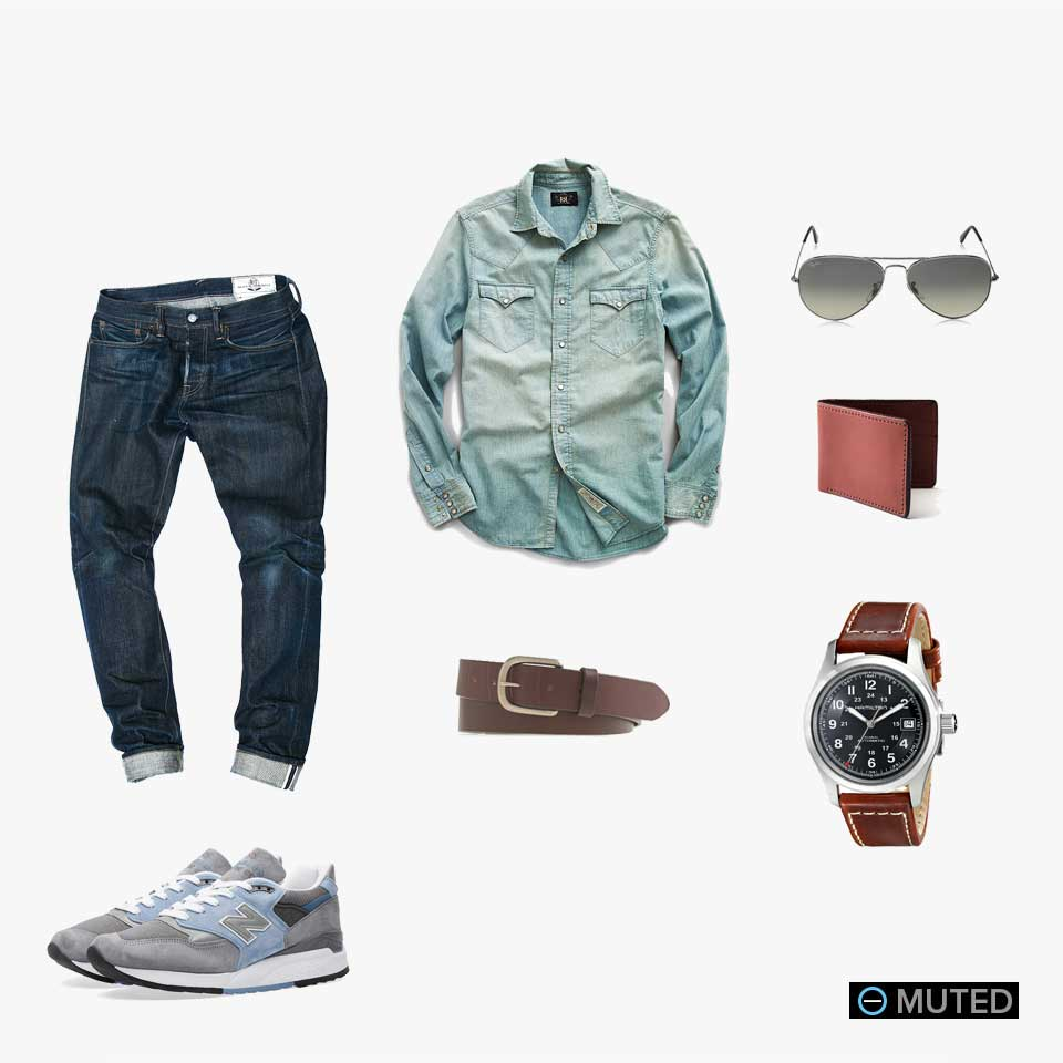 muted mens outfit ideas #28