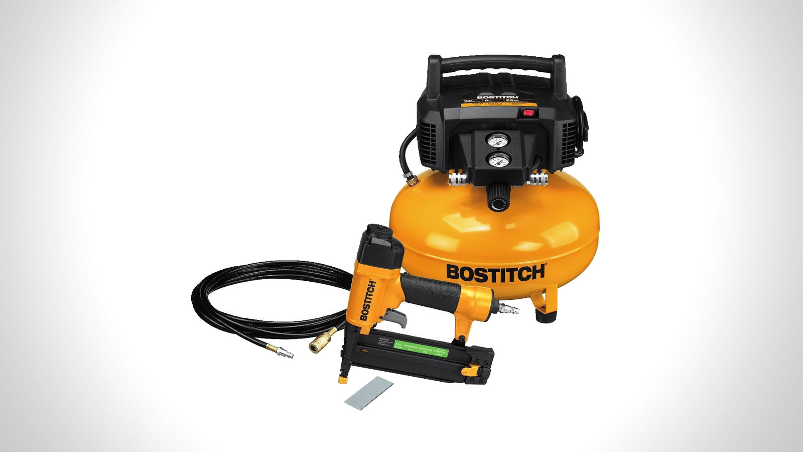 Bostitch Brad Nail & Compressor Combo Kit   gifts for men   the best tool gift ideas