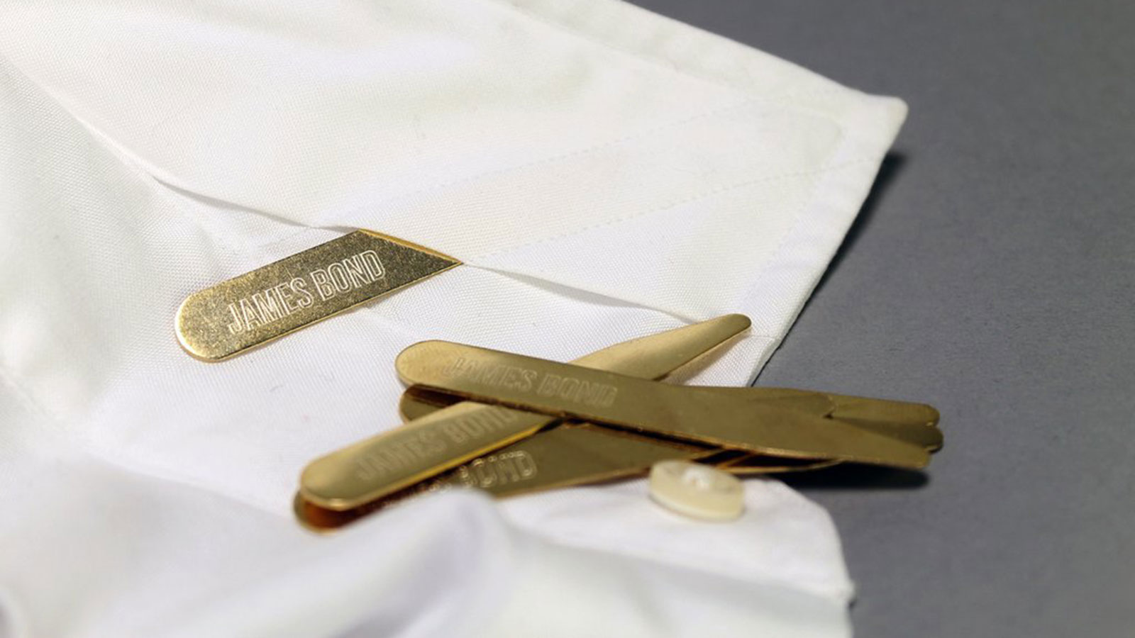 Brass Collar Stays   Gifts For Men   Gifts For The Professional