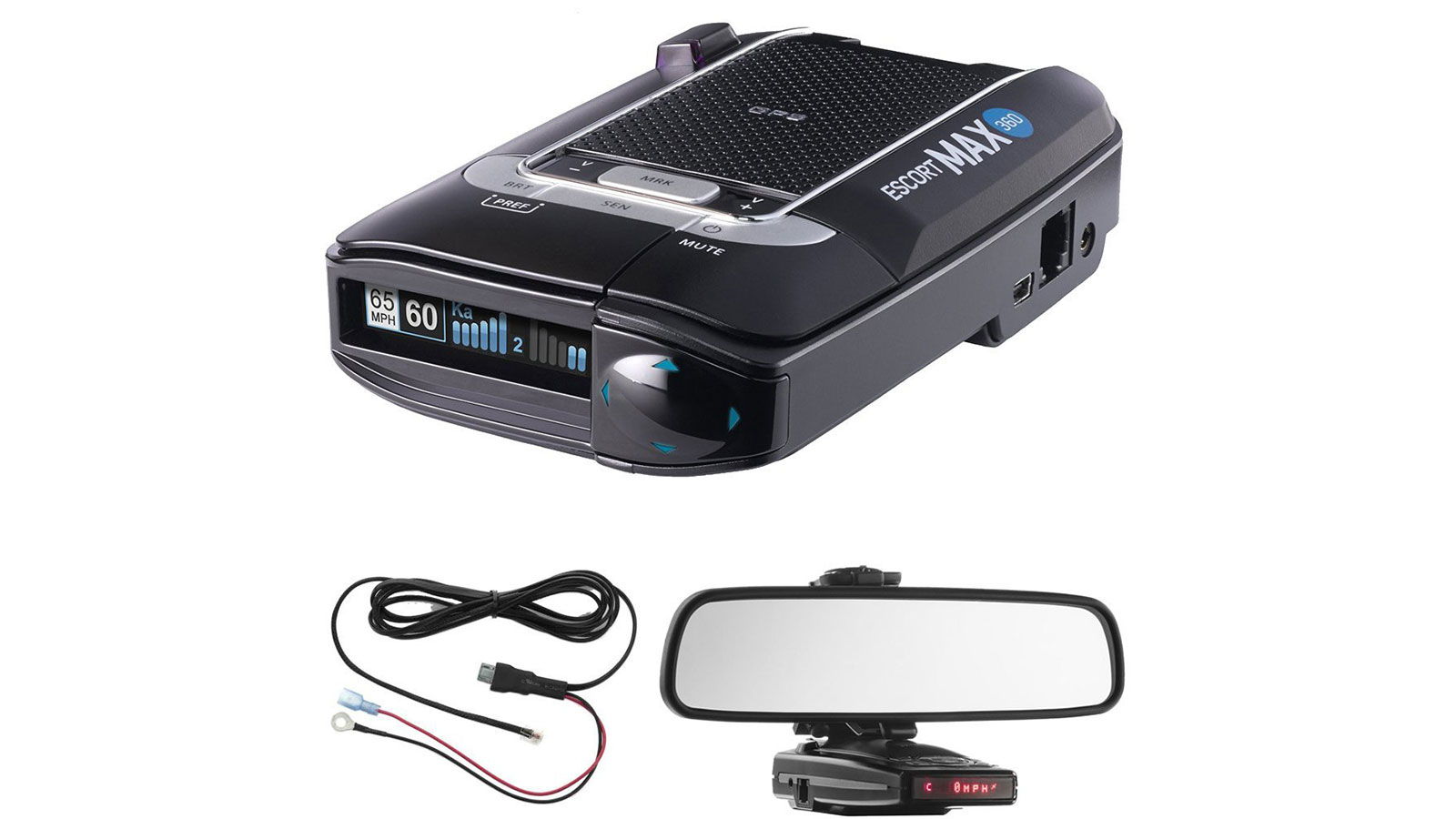 Escort Max 360 Radar and Laser Detector | gifts for men | gifts for drivers