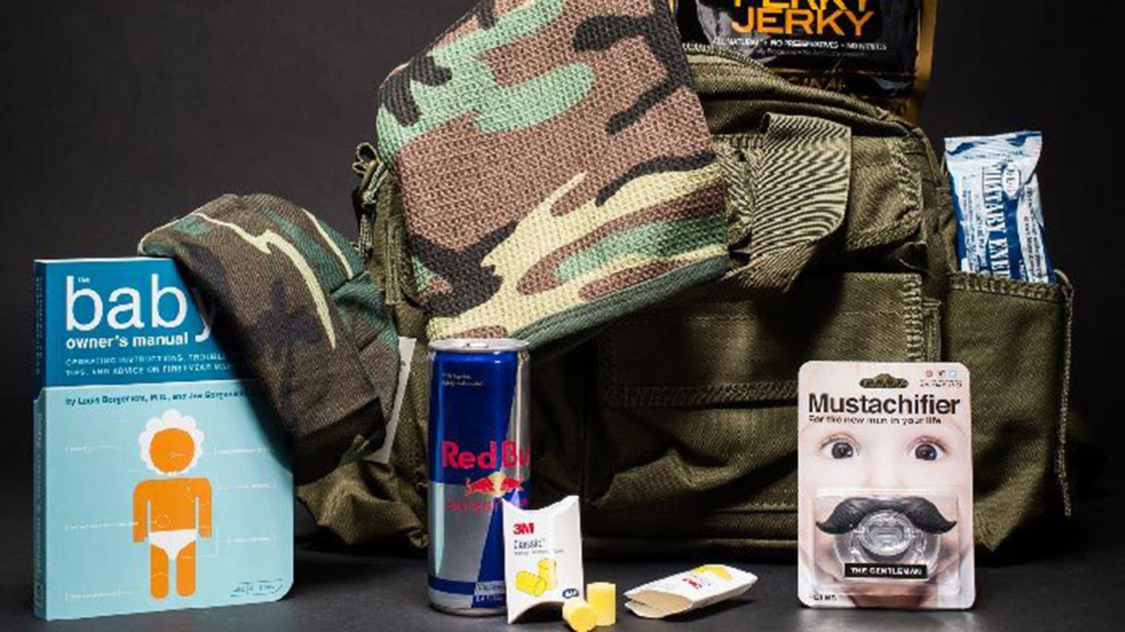 New Dad Tactical Bag | gifts for men | gifts for the new dad