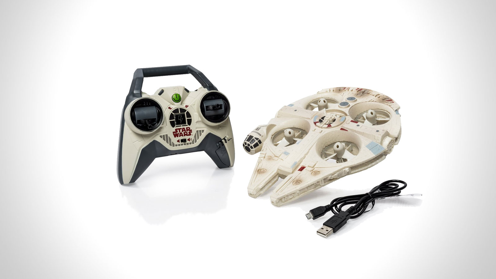 Star Wars Remote Control Millennium Falcon Quad   gifts for men   the best star wars gifts