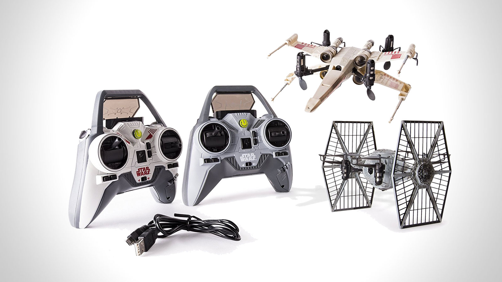 Star Wars X-wing vs. TIE Fighter Drone Battle Set   gifts for men   the best star wars gifts