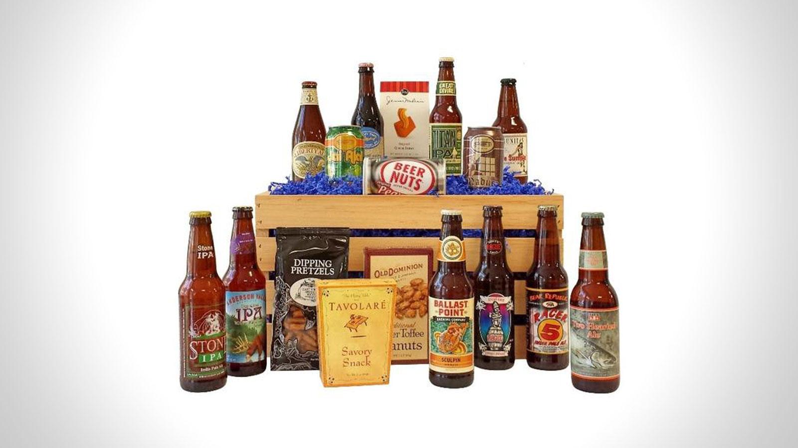 Give Them Beer Gift Baskets   Gifts For Men   Gift Baskets For Men