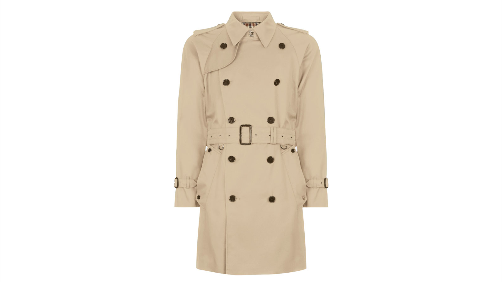 Aquascutum Corby Double Breasted Men's Trench Coat   The Best Men's Trench Coats