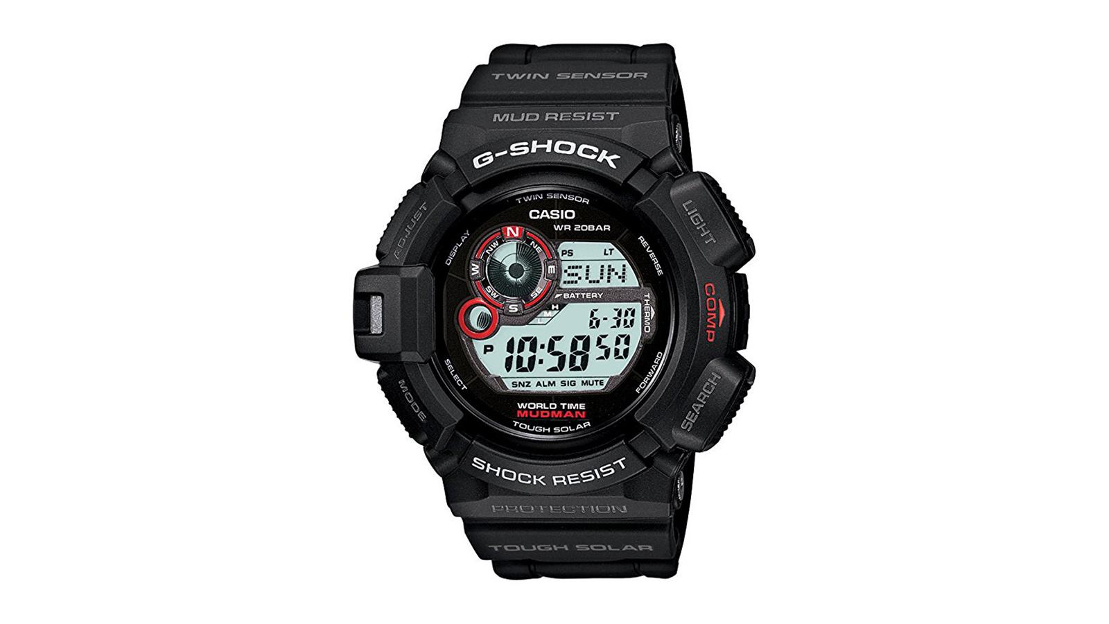 Casio Men's G9300-1 Mudman Sports Watch   the best men's watches under $200