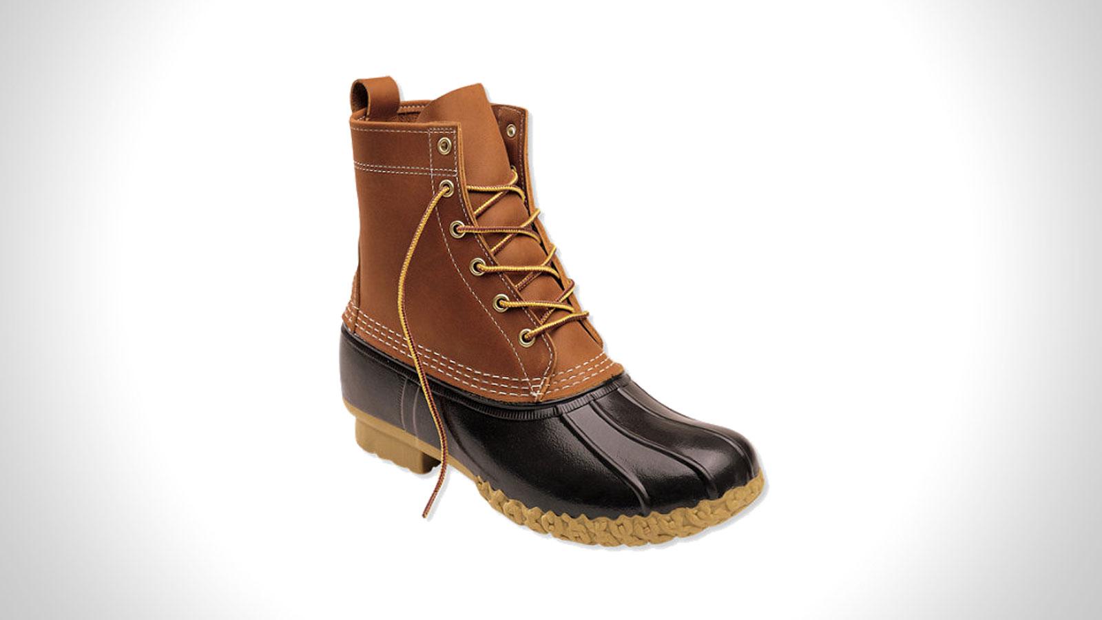 L.L. Bean Bean Boot Duck Boot   the best men's waterproof boots