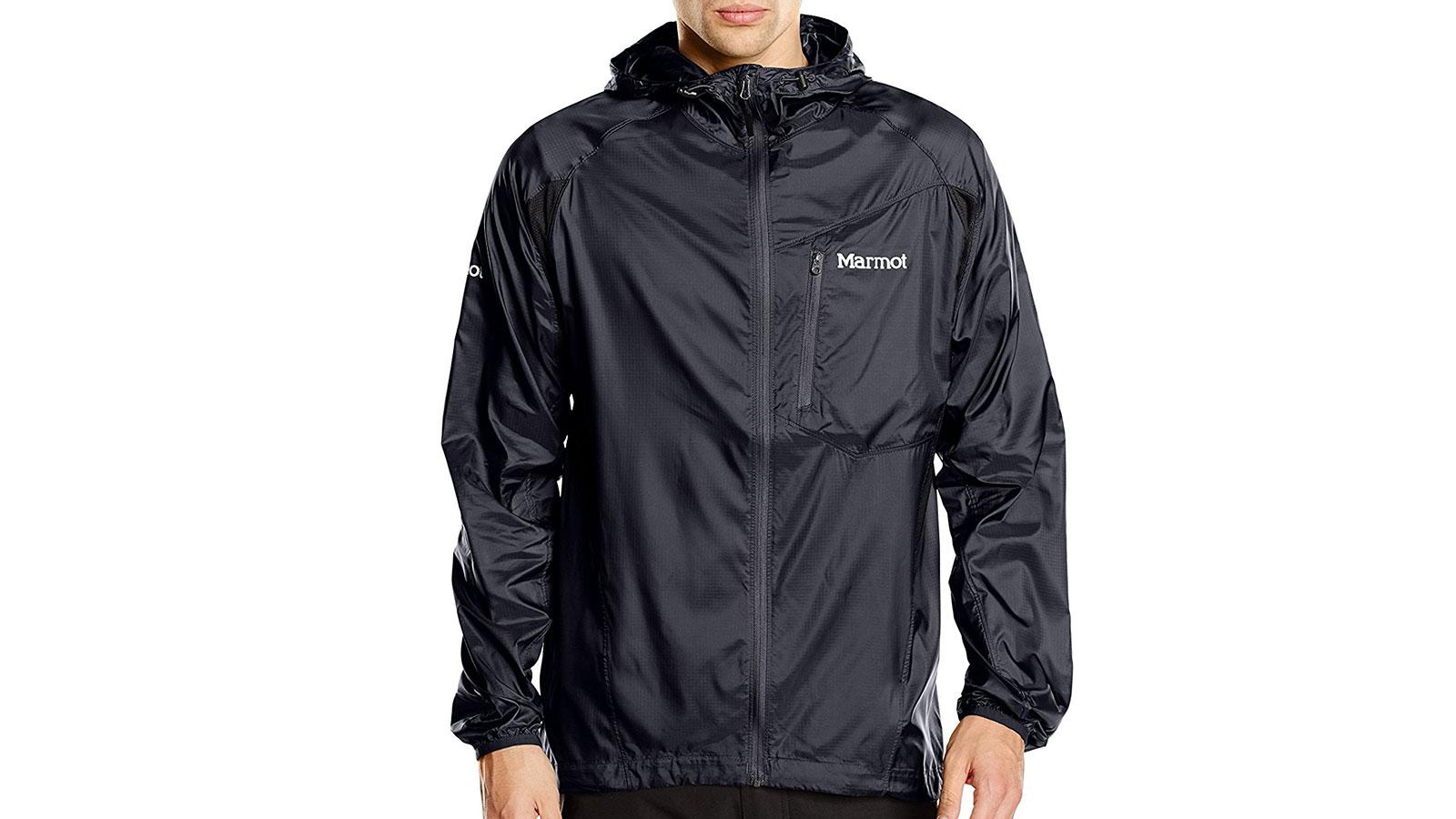 Marmot Trail Wind Hooded Men's Windbreaker Jacket   the best men's windbreakr jackets
