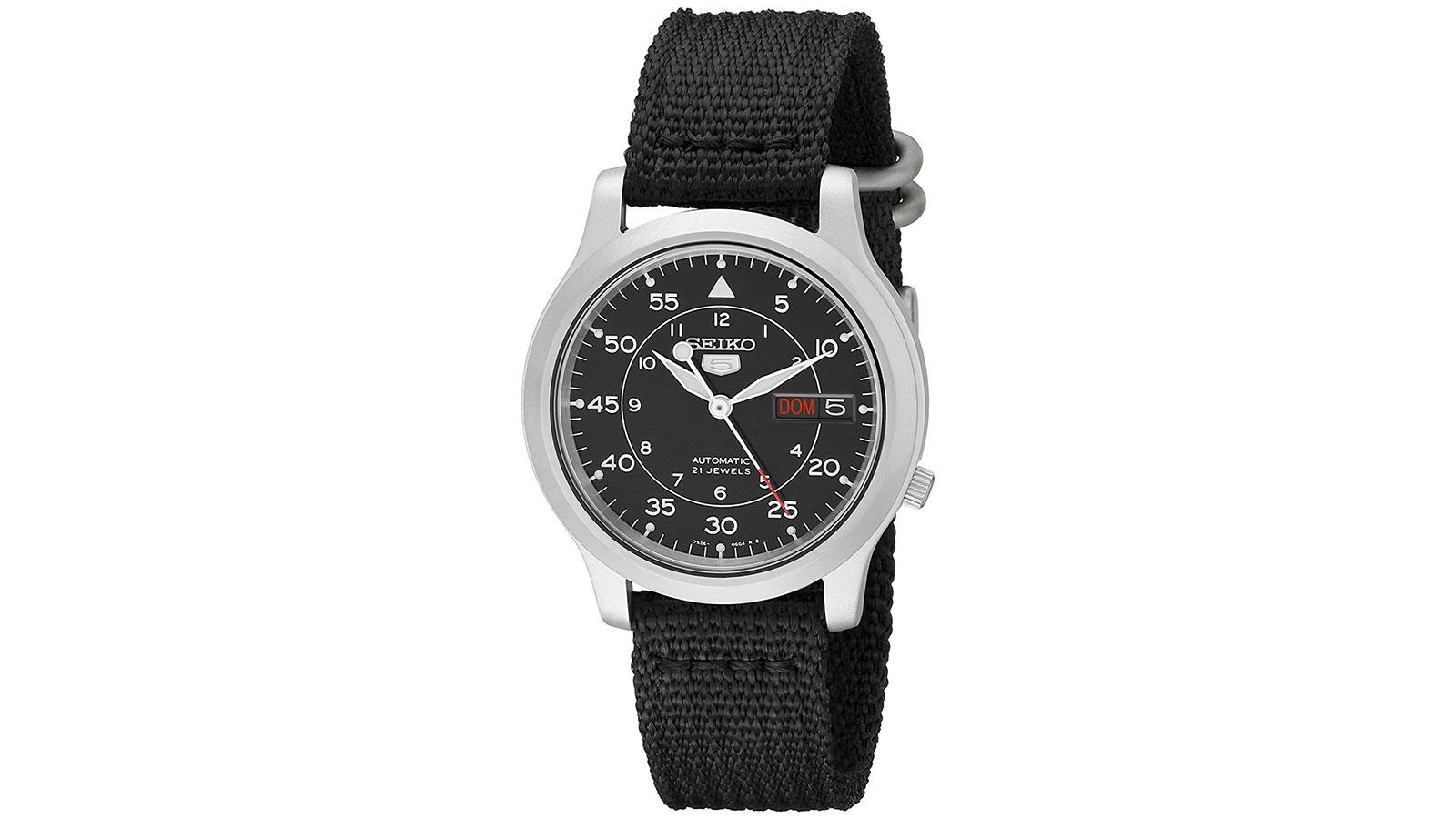 Seiko Men's SNK809 Watch   best men's watches under $100