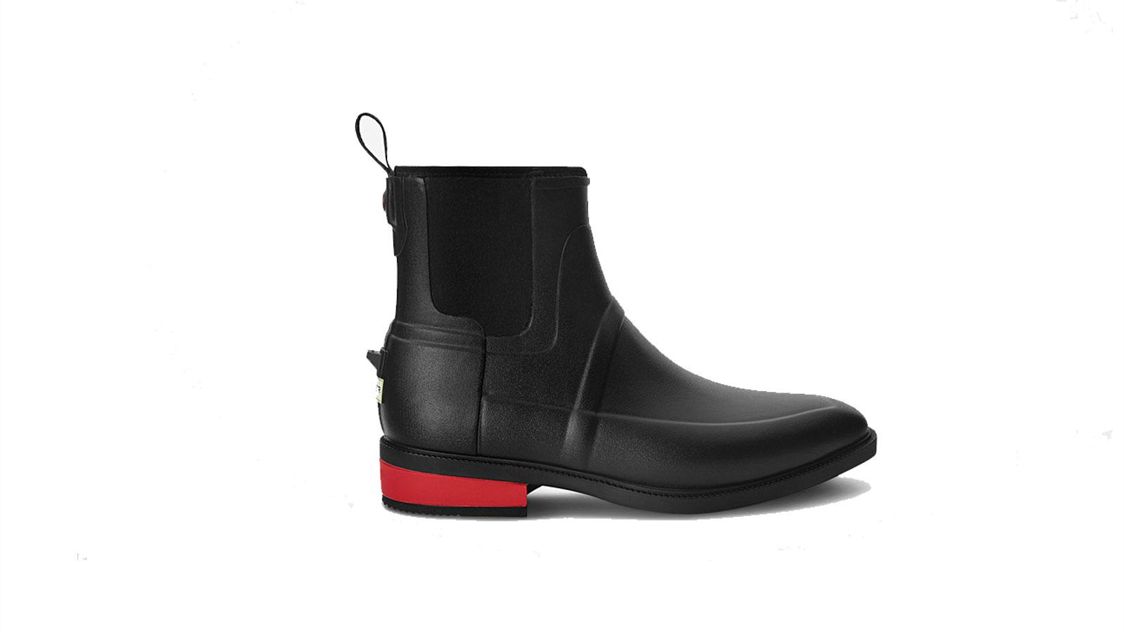 Wellesley Rubber Jodhpur Men's Waterproof Boot by Hunter   the best men's waterproof boots