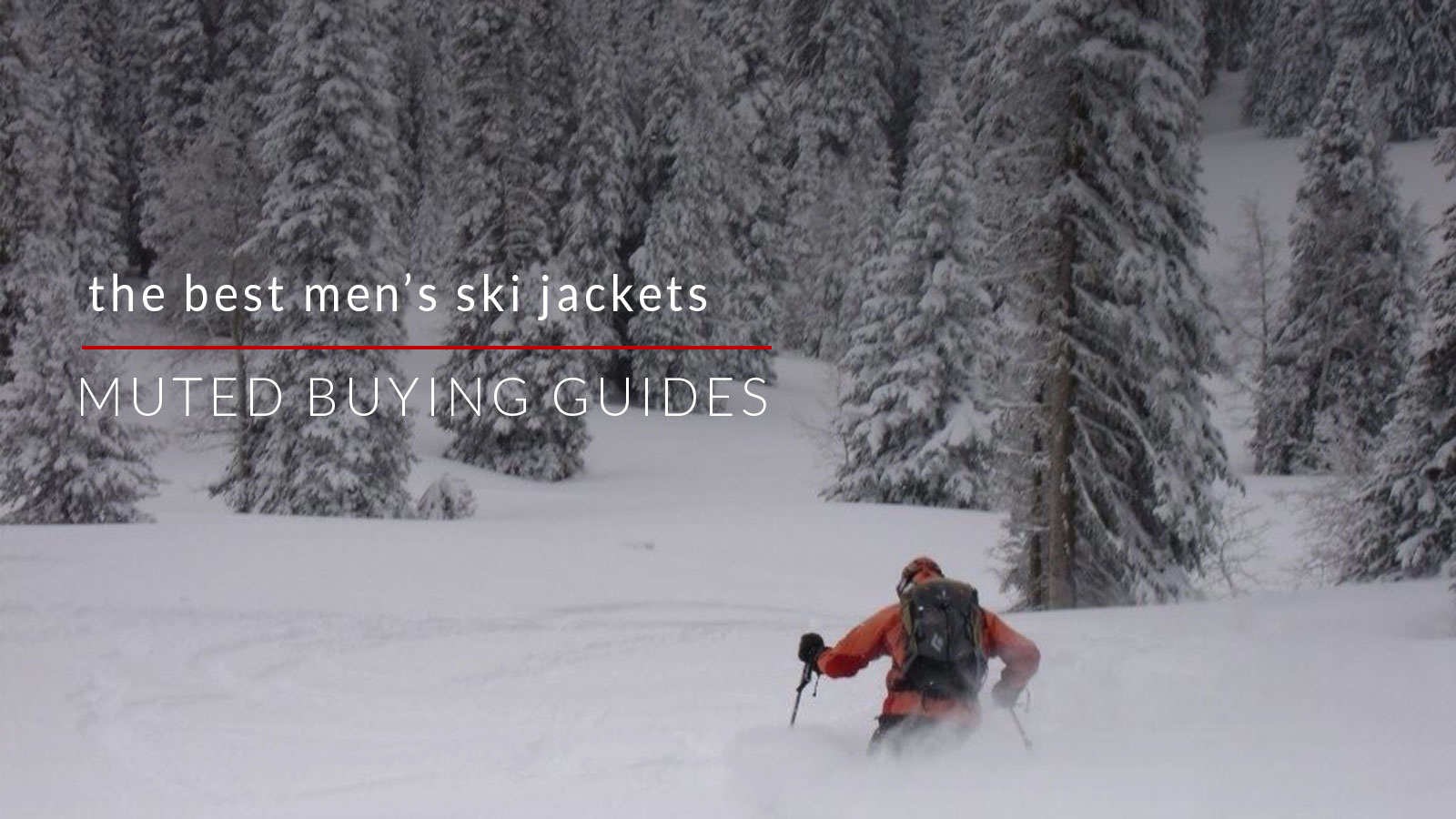 the best men's ski jackets