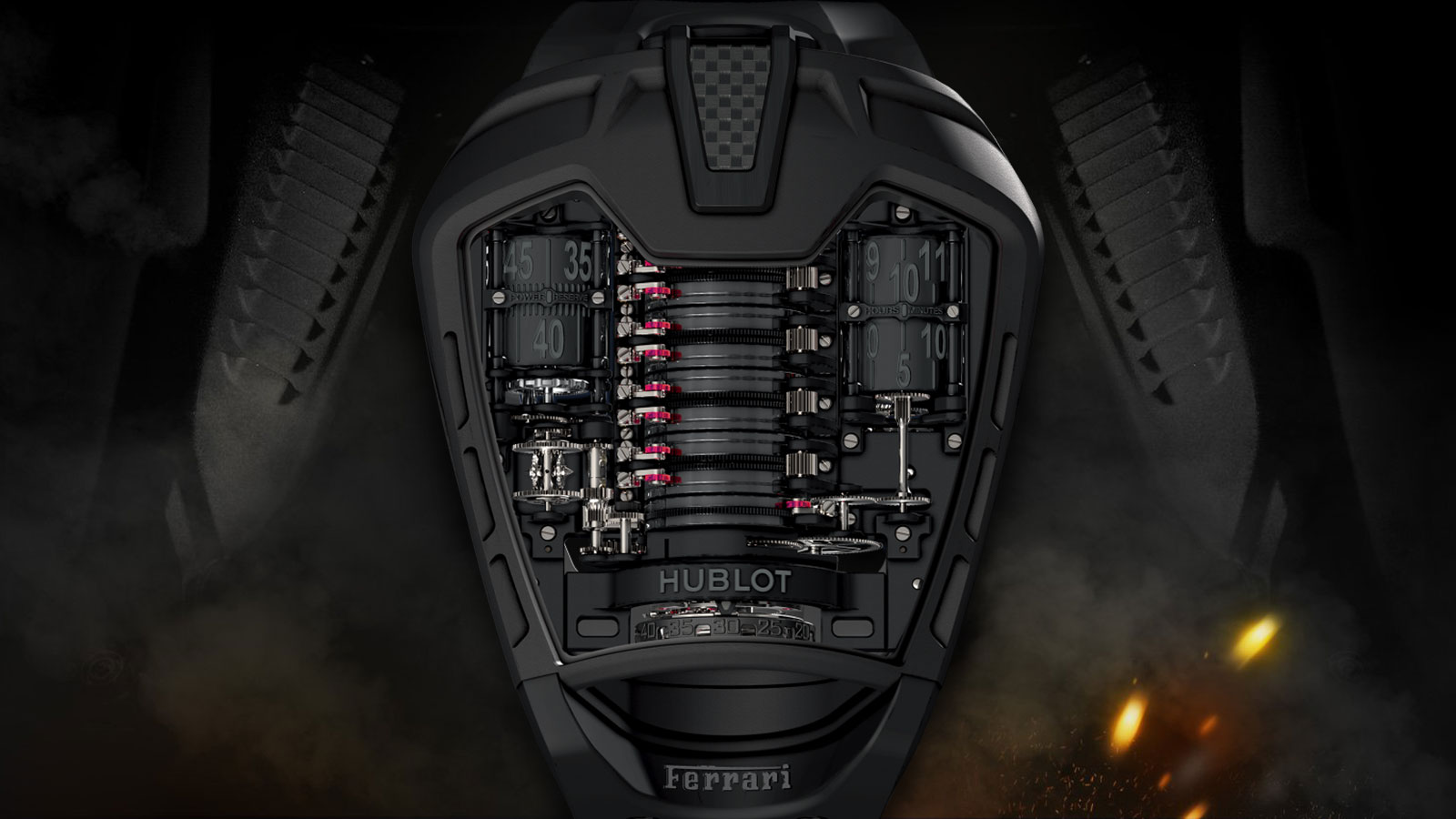 Hublot MP-05 Laferrari All Black Men's Watch | futuristic watches for men