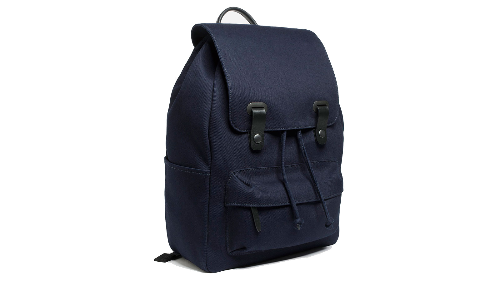 Everlane Twill Snap Backpack | best men's backpacks
