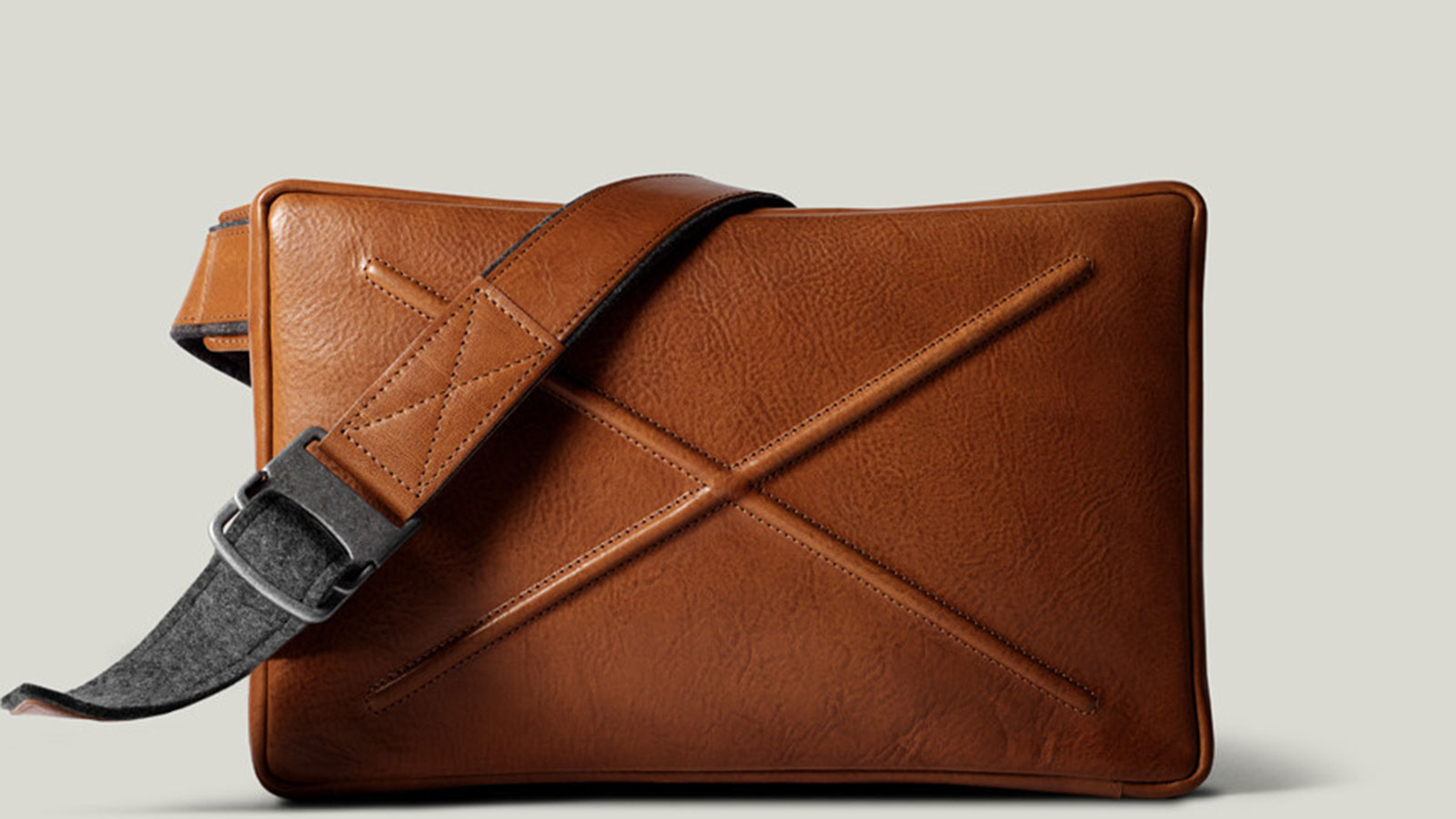 Hardgraft Flat Pack Messenger Bag | best messenger bags for men