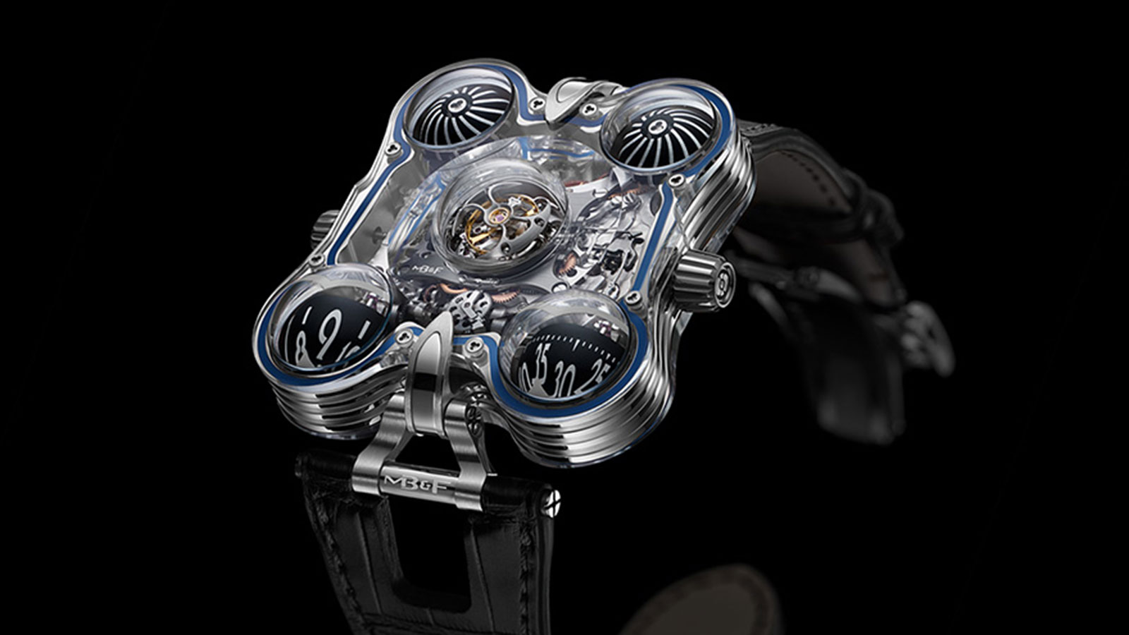 MB&F Horological Machine #6 Men's Watch | futuristic watches for men