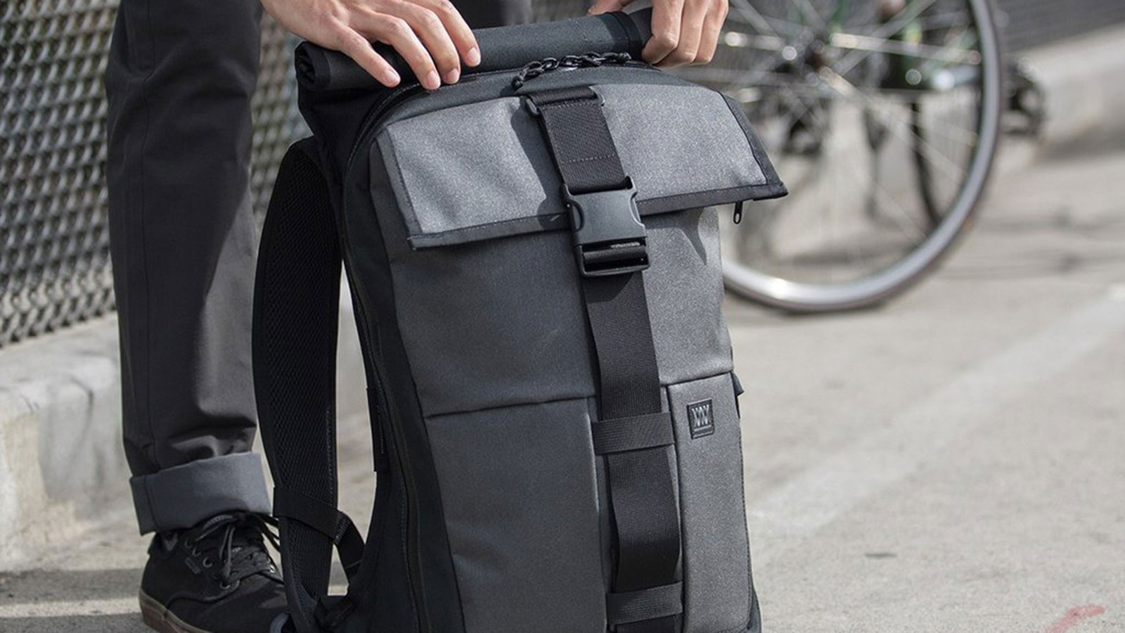 Mission Workshop Rambler Cycling Backpack | best commuter backpacks for cyclists