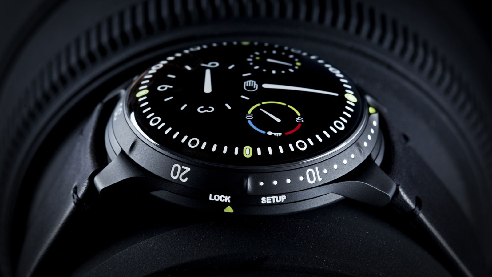 Ressence Type 5 Men's Watch | futuristic watches for men