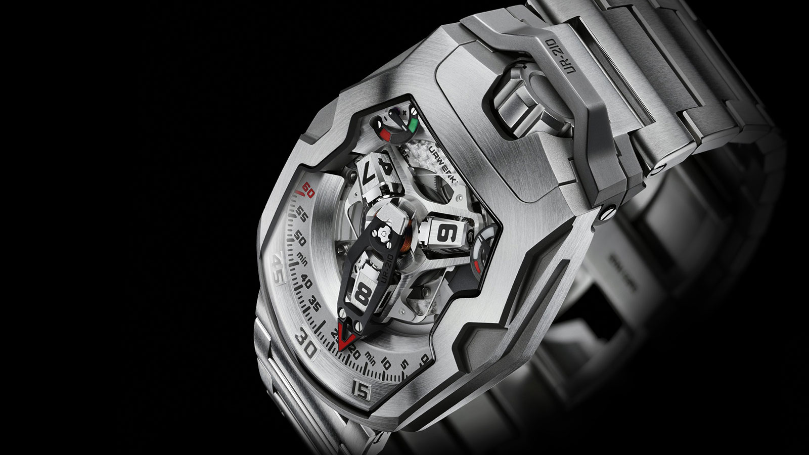 Urwerk UR-210 Men's Watch | futuristic watches for men