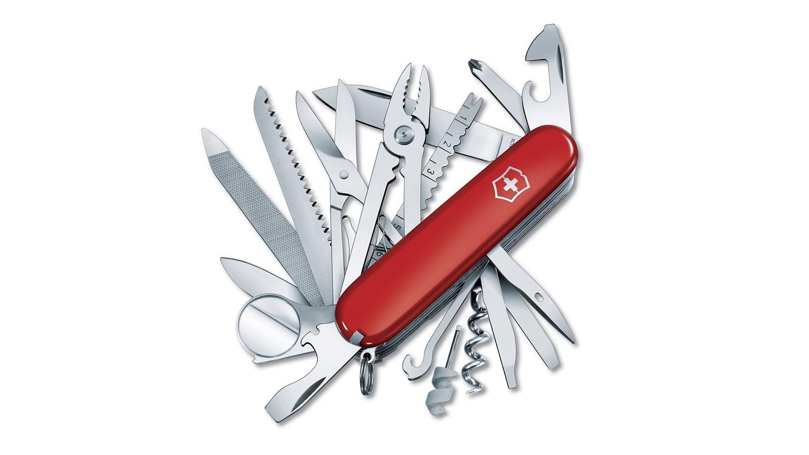 Victorinox Swiss Army Swiss Champ Pocket Knife | the best swiss army knives