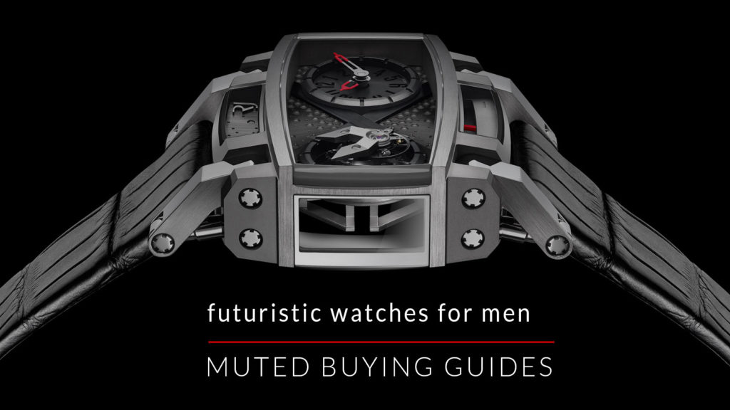 futuristic watches for men buying guides muted