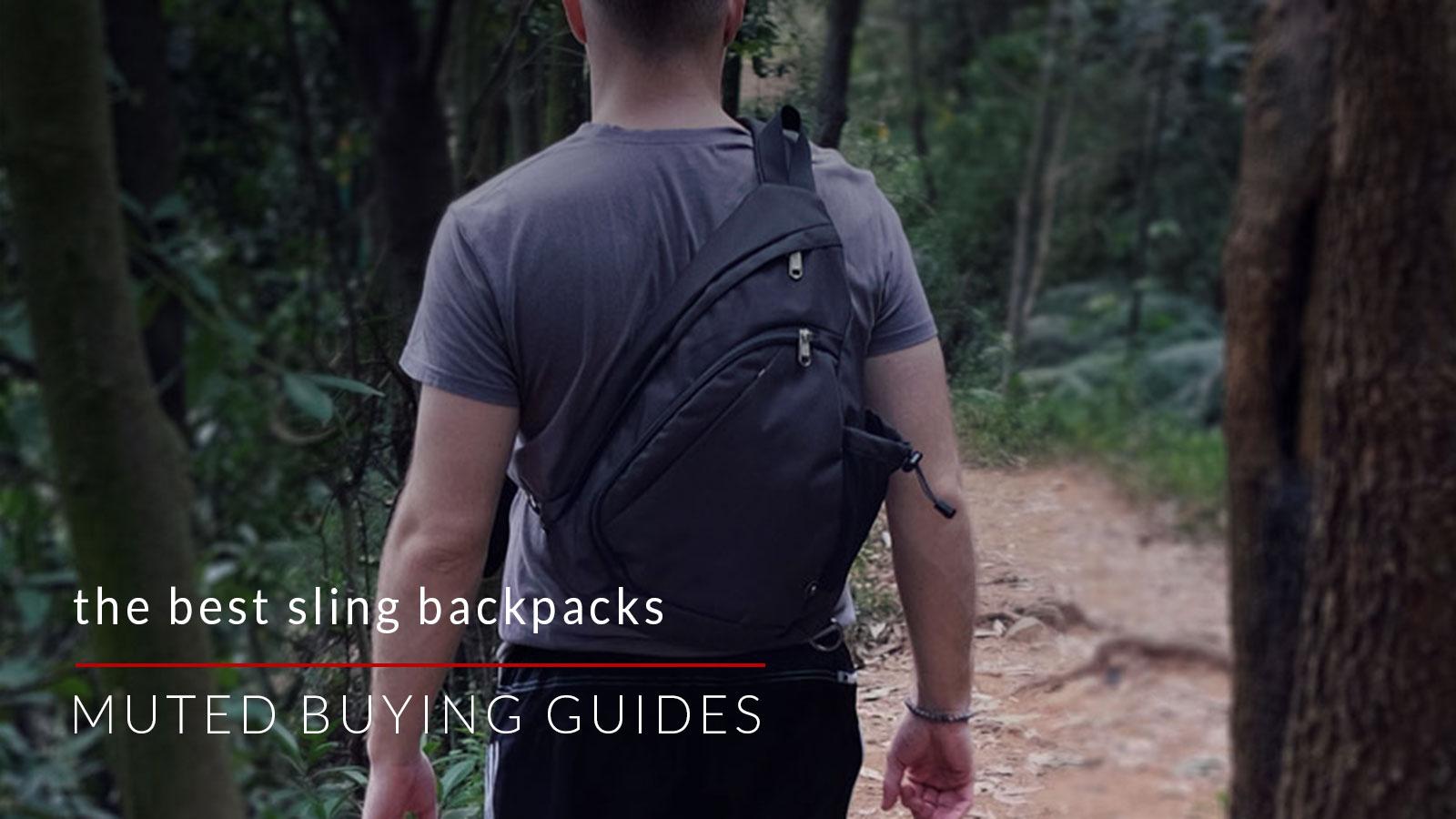 best sling backpacks