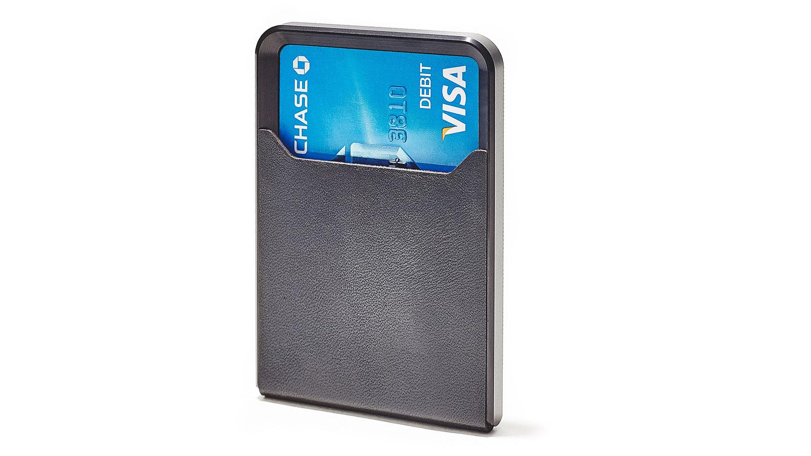 Grovemade Black Minimalist Metal Wallet | best metal wallet