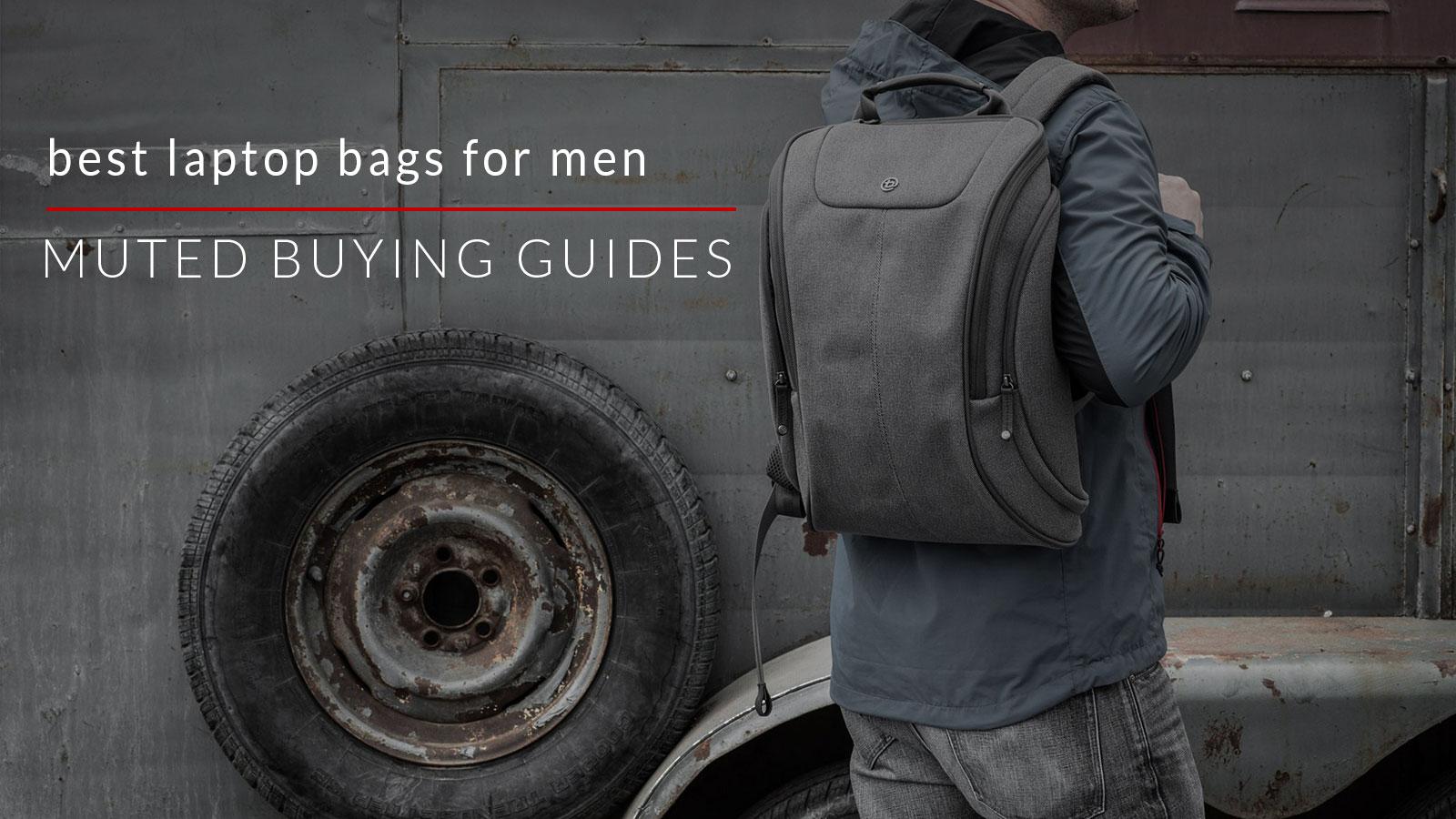best laptop bags for men
