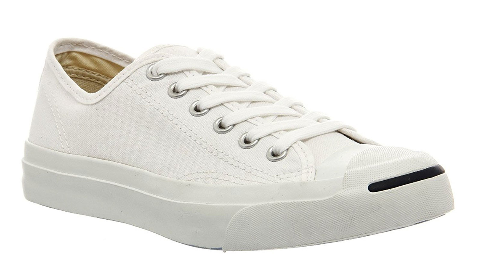 Converse Jack Purcell Signature White Sneakers | best men's white sneakers