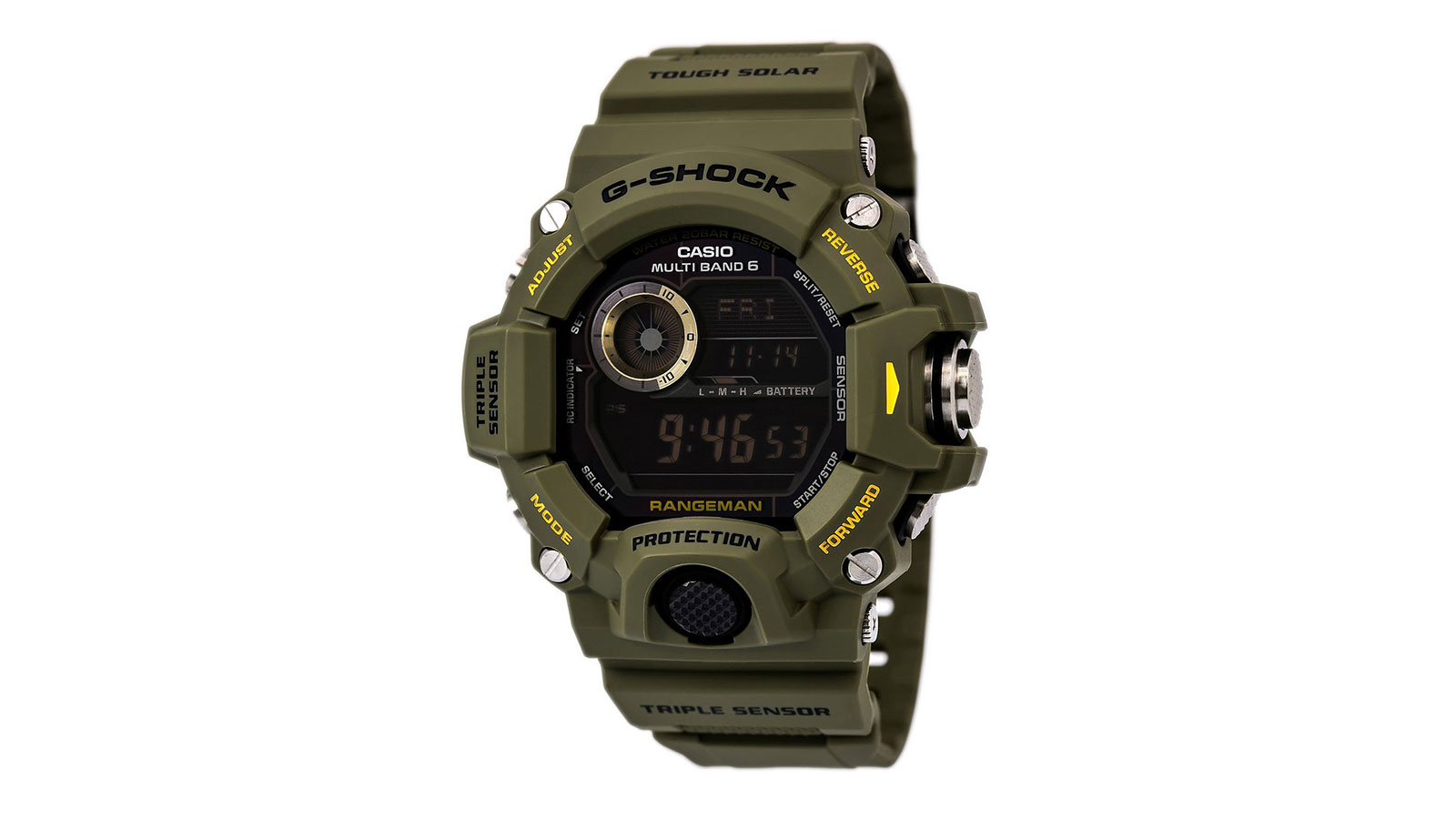 Casio Rangeman GW9400-3 Tactical Watch | best tactical watches for men