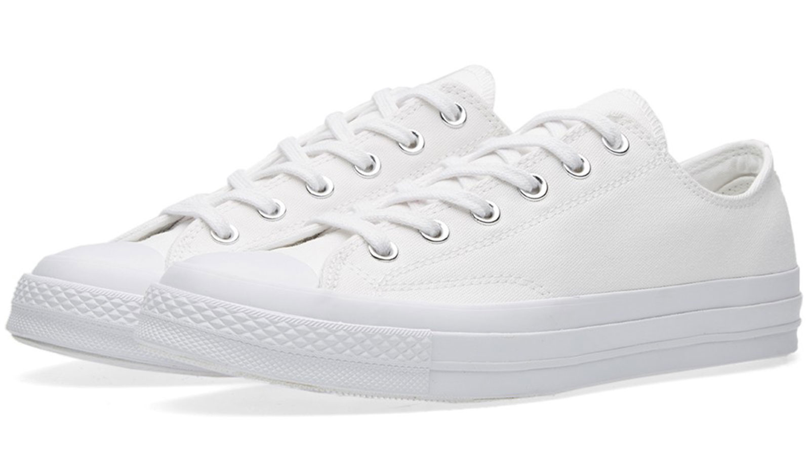 Converse 70s All-Star in Mono White | best mens white sneakers