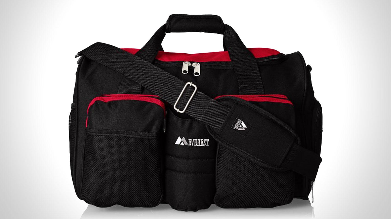 Everest Gym Bag with Wet Pocket | best mens gym duffle bag
