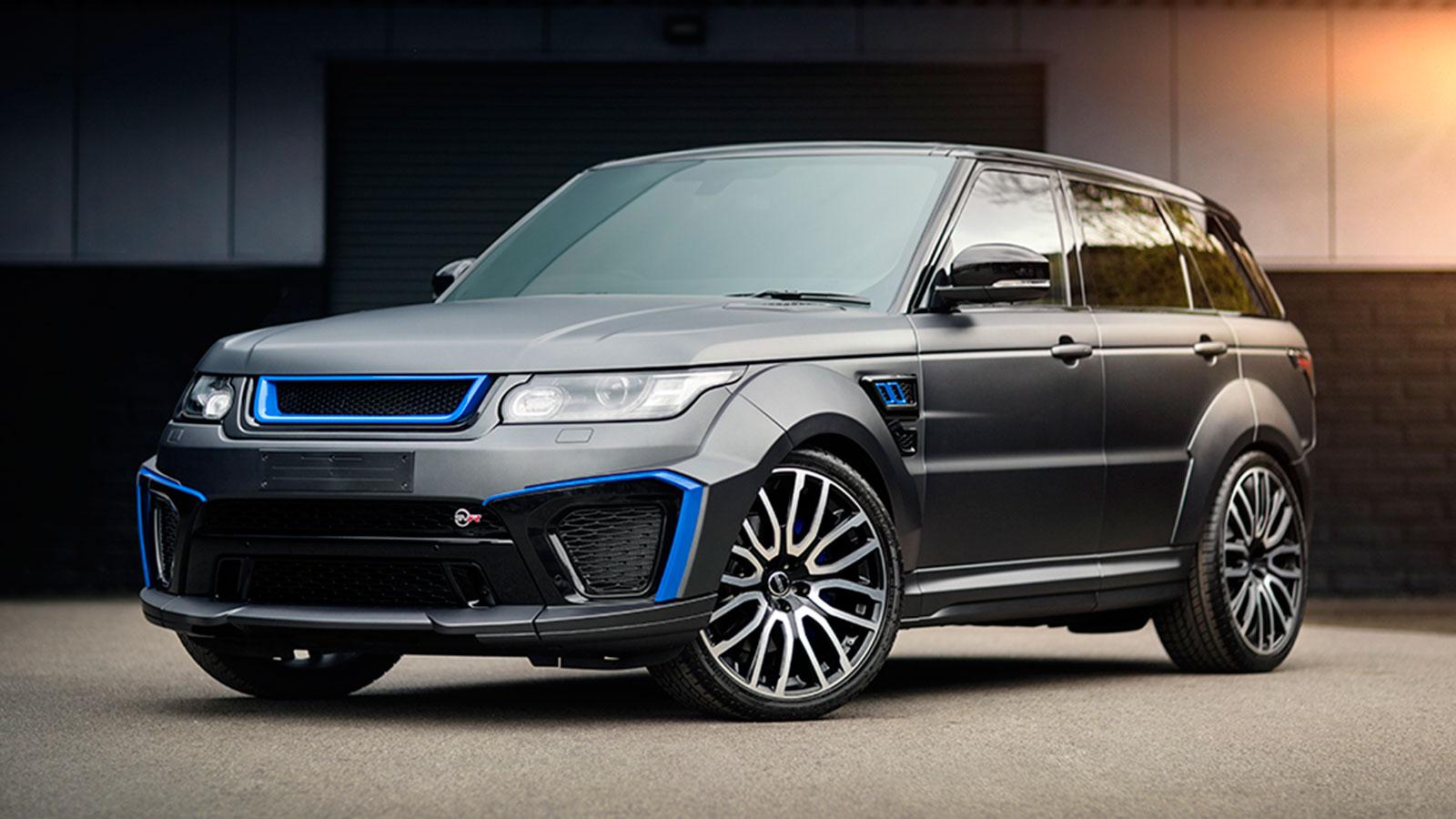 Project Kahn Land Rover Sport 5 0 V8 Supercharged Svr Pace