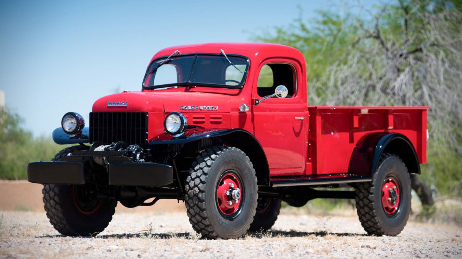 1947 Dodge Power Wagon Pickup Up For Auction Muted 1949