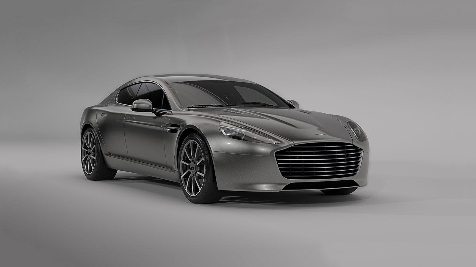 2019 Aston Martin RapidE All-Electric Supercar