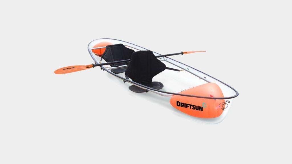 driftsun transparent kayak muted