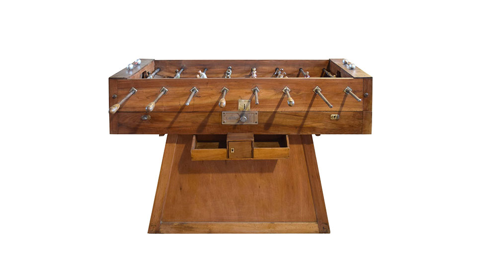 S ITALIAN FOOSBALL TABLE FURNITURE Muted - Italian foosball table