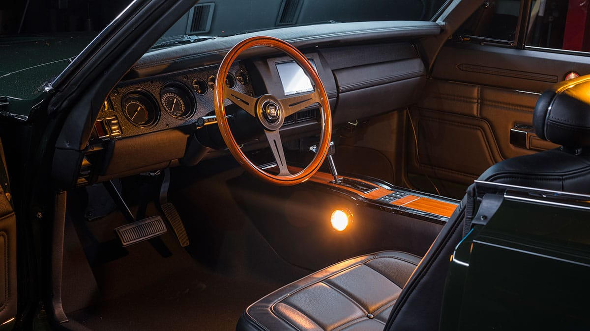 Ringbrothers 1969 Dodge Charger Defiant 24 Interior