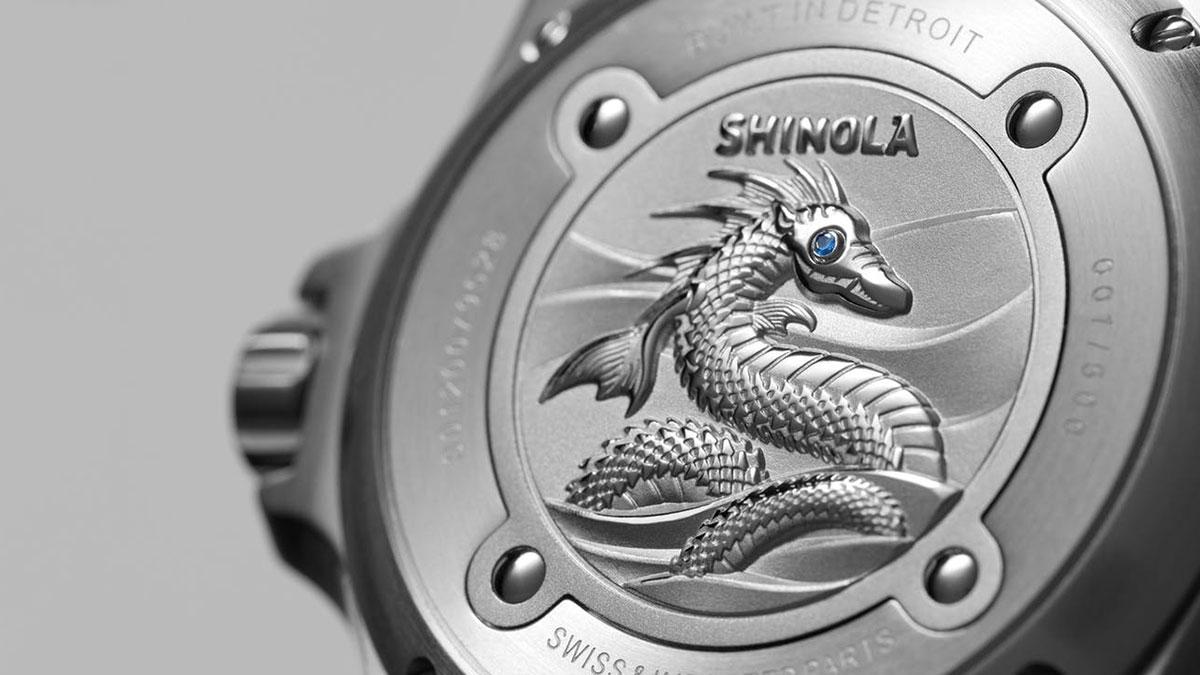 Shinola Lake Erie Monster Dive Watch