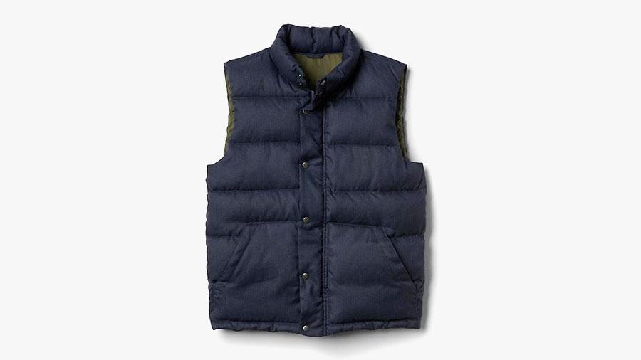 best mens winter vests by gap