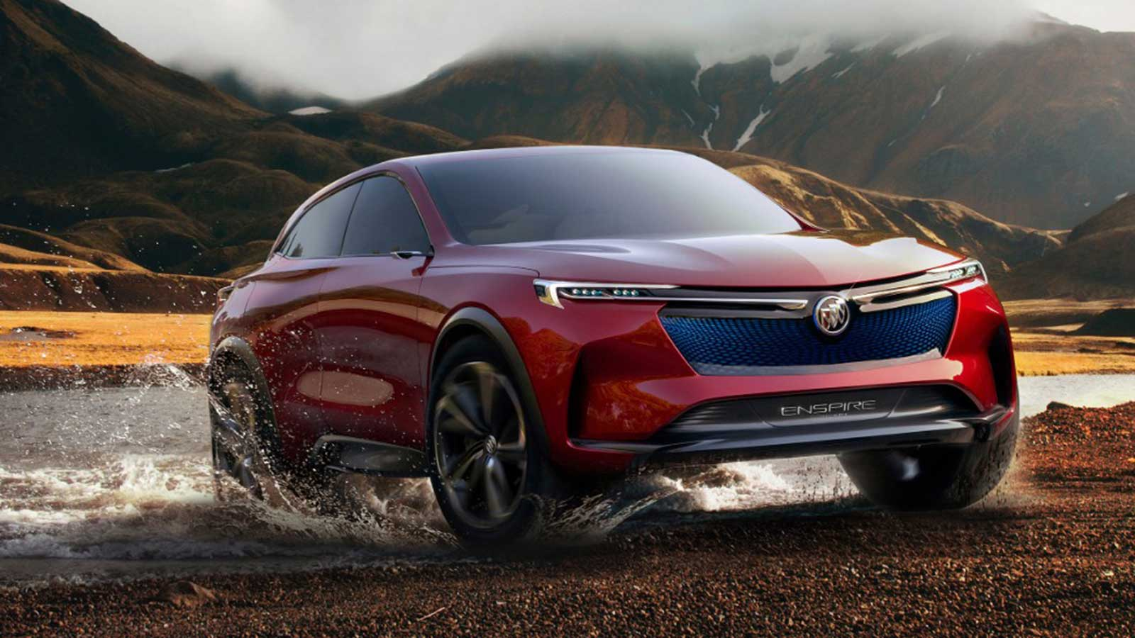 Buick Enspire Electric Concept SUV – Finally a Buick I'd Want to Buy