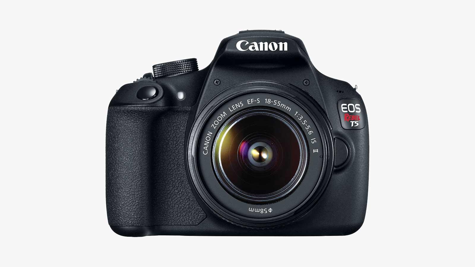 Canon Rebel T5 DSLR Camera