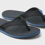 Hari Mari Men's Fields Sandals Blue & Black