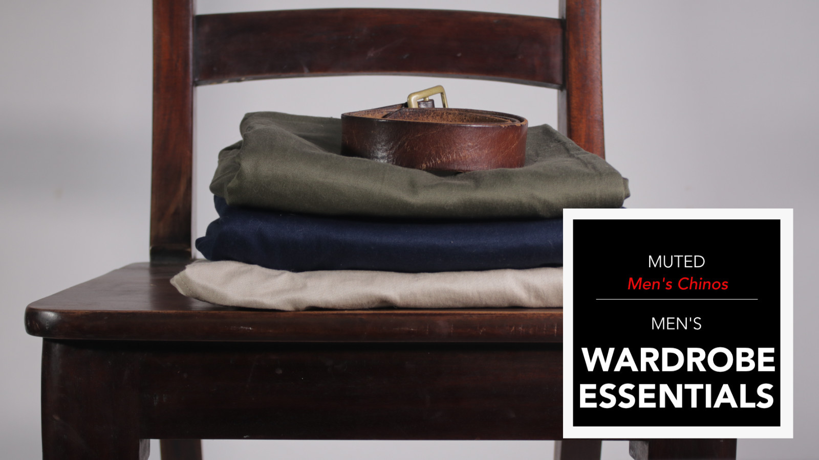 "<span class=""entry-title-primary"">Men's Wardrobe Essentials – The Chino</span> <span class=""entry-subtitle"">Everything you ever wanted to know about men's chinos and how to wear them.</span>"
