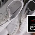 Wardrobe Essentials - Men's White Sneakers