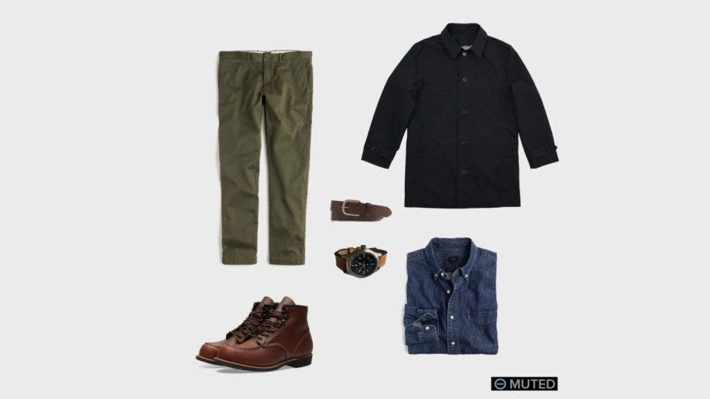 Men's Outfit Ideas #96: Philly Representing
