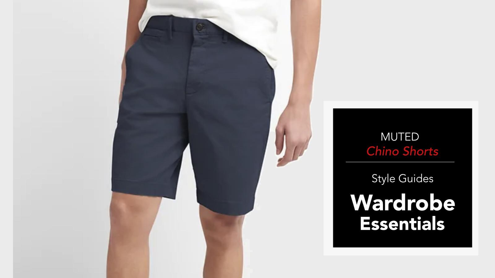 Men's Wardrobe Essentials - Chino Shorts