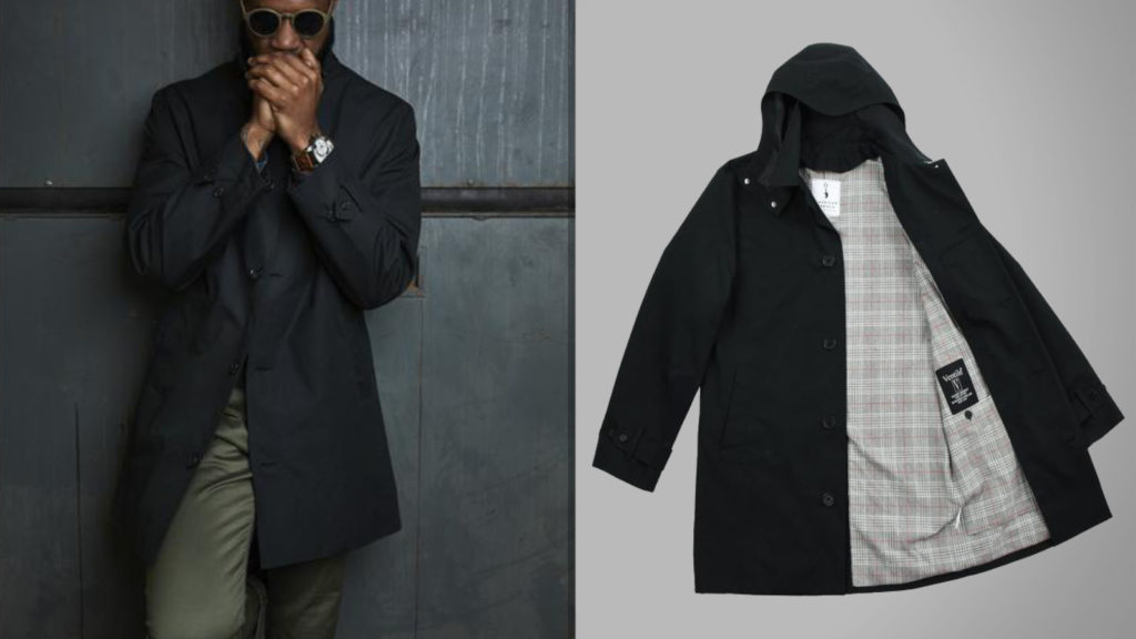 The Black American Trench Coat for Men Is On Sale Now